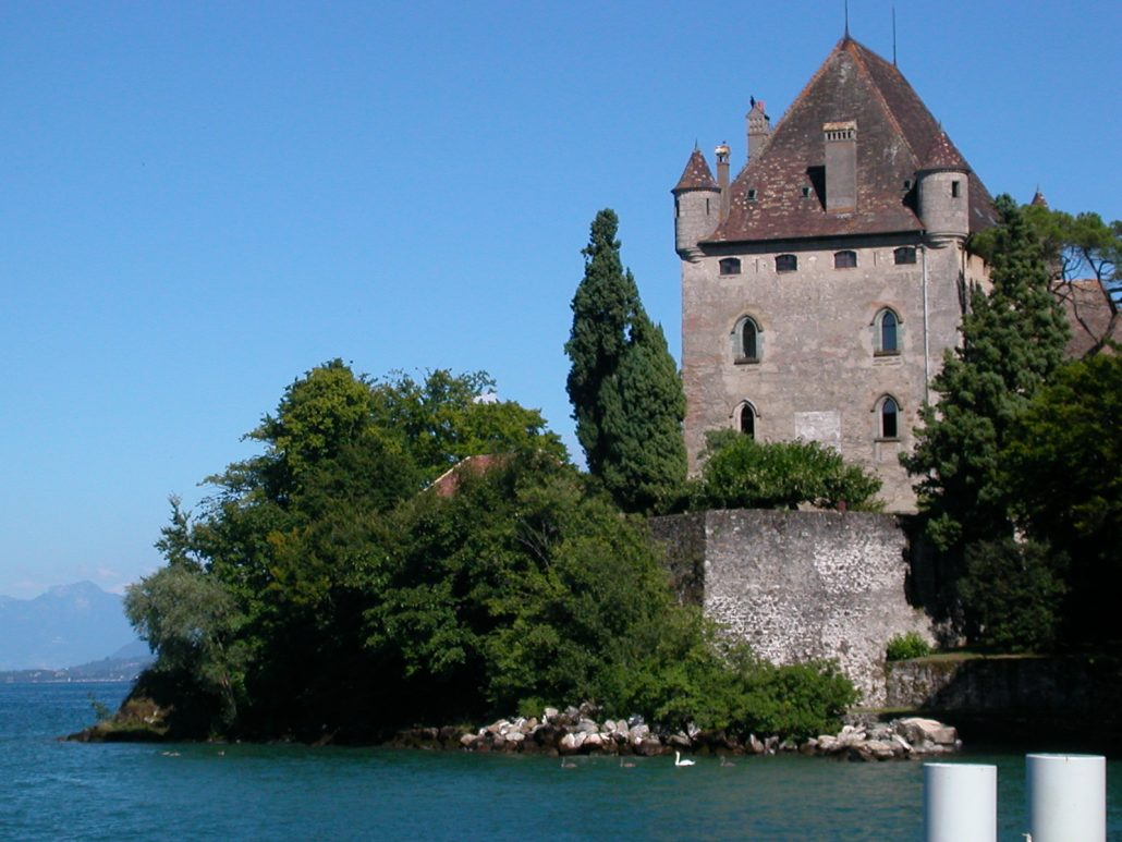 Yvoire-château AAZ TAXI ANNECY